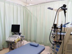 胃カメラ、エコー室